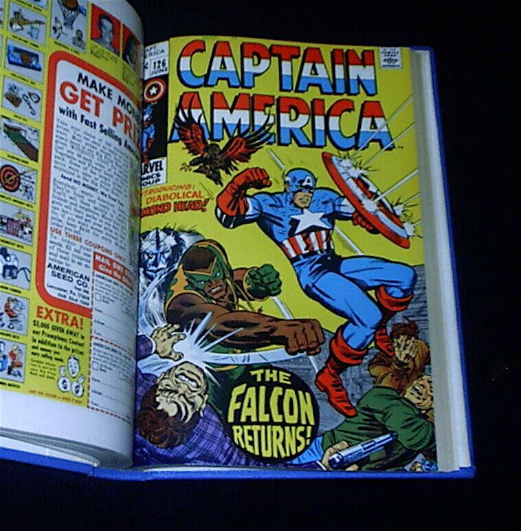 BID/MAKE OFFER -  Captain America #118-#130   Bound High Grade Marvel SA Volume