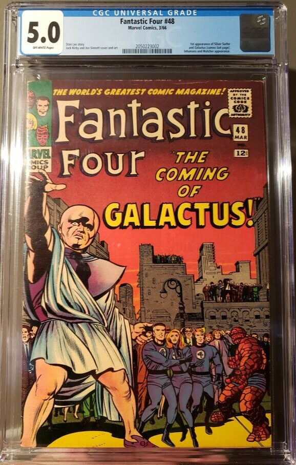 Fantastic Four #48 CGC 5.0   FIRST APP OF THE SILVER SURFER   KEY