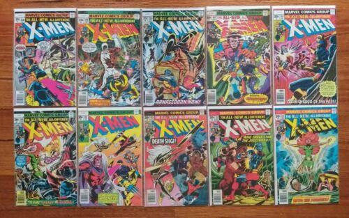 The Uncanny X-MEN Vol 1 Comic Book Issue 101 102 103 104 105 106 107 108 109 110