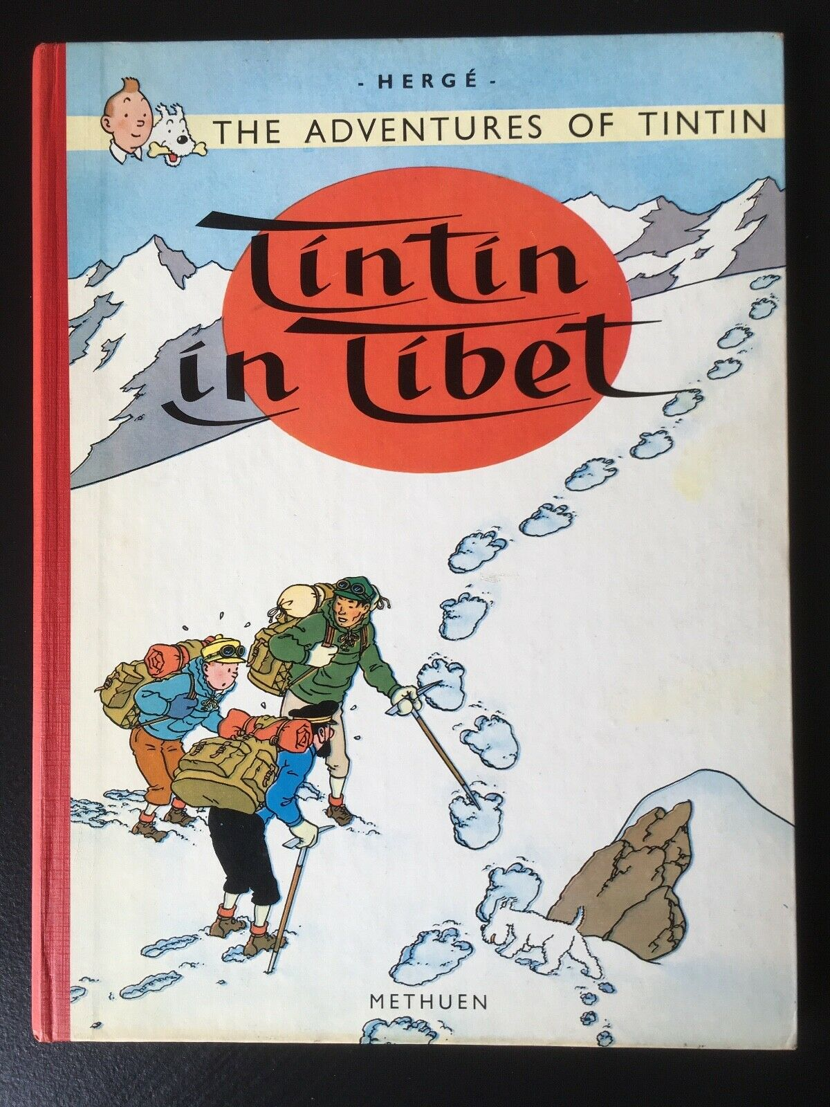 The Adventures of Tintin - Tintin in Tibet - Methuen 1965 - 2. Auflage