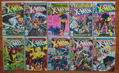 The Uncanny X-MEN Vol 1 Comic Book Issue 131 132 133 134 135 136 137 138 139 140
