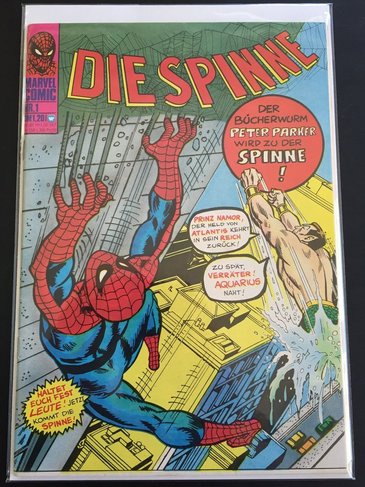 Marvel / Williams Comics / Die Spinne Nr. 1-137  Z 0-1/1