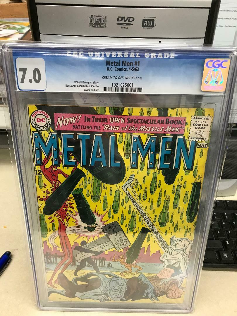 Metal Men #1 CGC 8.0  Ross Andru / Mike Esposito  DC Comics