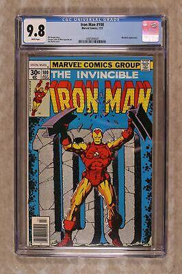 Iron Man #100 CGC 9.8 1977 1497309020