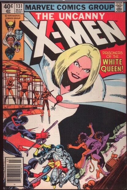 MARVEL UNCANNY X-MEN 131 and 133 F/VF MARCH @ MAY 1980