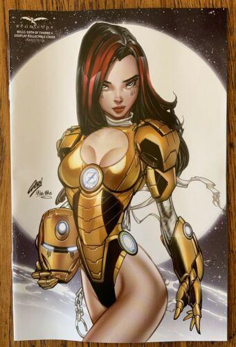 Belle Oath of Thorns #4 Paul Green Iron Man Cosplay LE 100 Zenescope