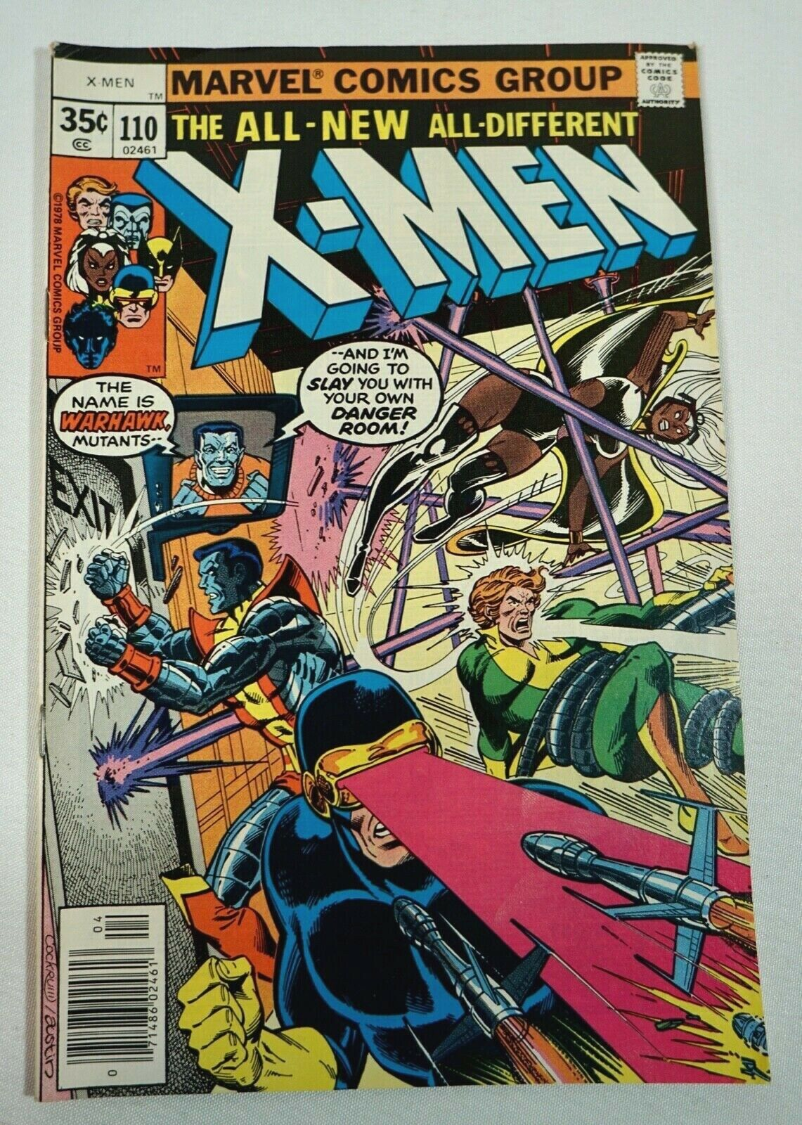 The Uncanny X-Men Lot of 9 High Grade Copies. #110,111,113-119