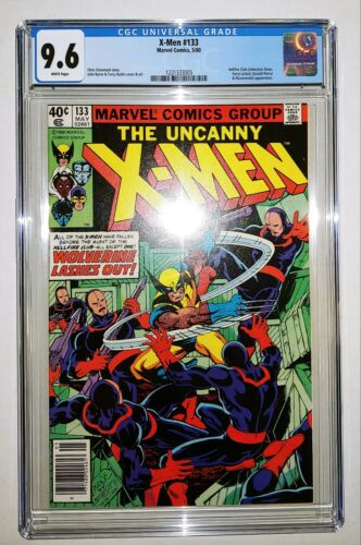 Uncanny X-Men #133 - CGC 9.6 White Pages - Newsstand Edition - New