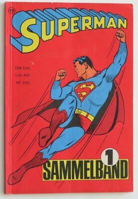 Superman Sammelband 1 - Mit den ersten 4 Heften der Serie - Nr. 1-4 1966