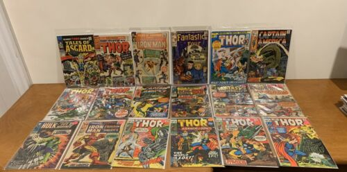 Marvel Silver Age Collection TOS 57 FF45 Thor Avengers Captain America Comics