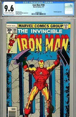 Iron Man #100 CGC GRADED 9.6 - second highest graded - anniversary issue