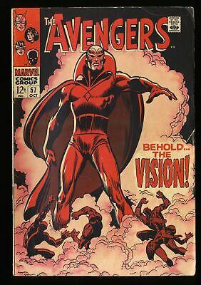 Avengers #57 VG 4.0 Marvel Comics Thor Captain America