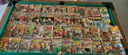 1972-73  LUKE CAGE HERO FOR HIRE 1 2 3 4 6 8-15  more Marvel comics 75 issue lot