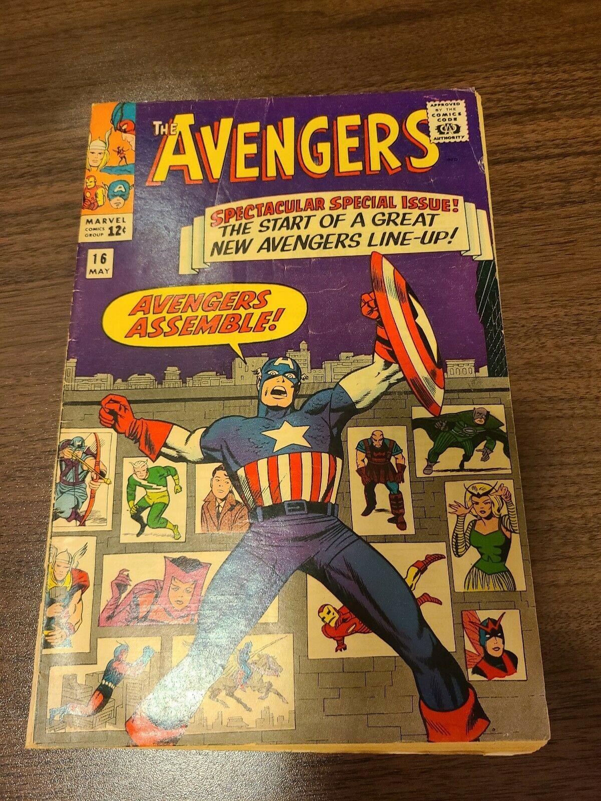 Avengers #16 New Avengers Line-up AVENGERS ASSEMBLE