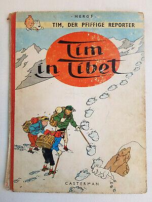 Tintin en Allemand - Tim in Tibet - Hergé