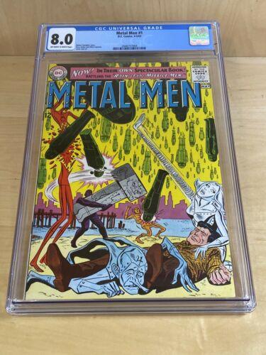 Metal Men #1 (1963, DC) CGC 8.0 1963 Silver Age DC *MP