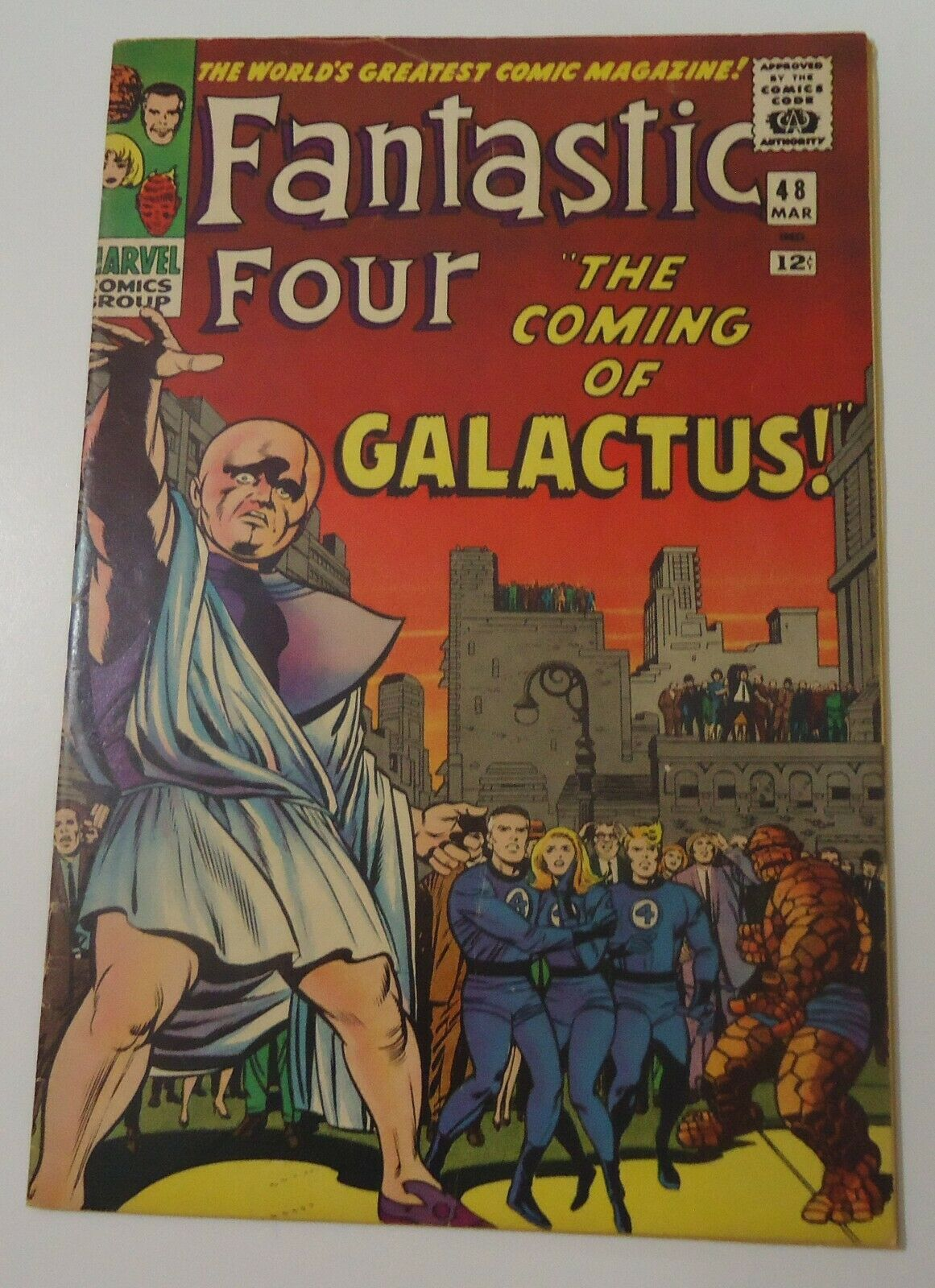 FANTASTIC FOUR #48 *FIRST APP SILVER SURFER & GALACTUS FINE+ CONDITION or BETTER