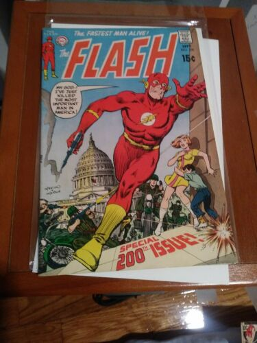 11 comic lot The Flash # 164 200 202 204 206 207 208 210 211 212 138 Adams cover