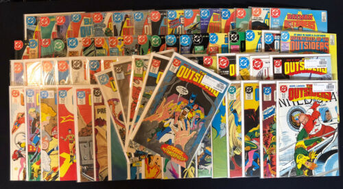 Batman And The Outsiders #1-46, Annuals 1,2 + Outsiders Series 1985 - 74 Comics