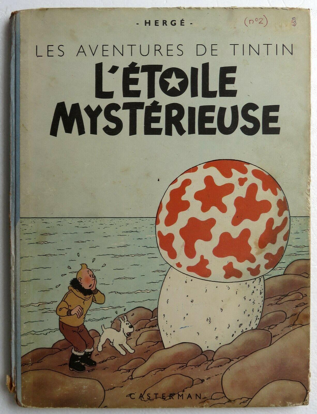 Les aventures de Tintin par Hergé, L'étoile mystérieuse - 1946