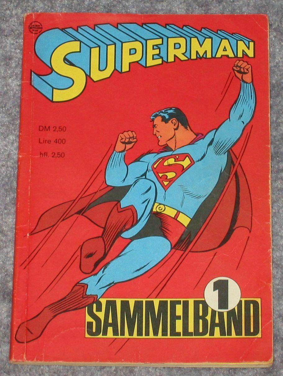 Superman Sammelband 1   Ehapa