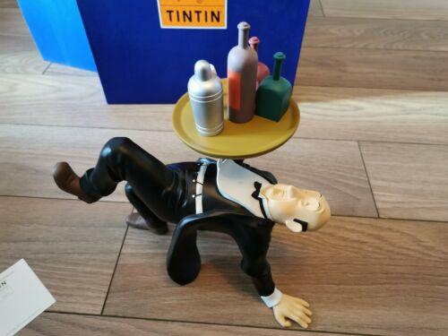 Tintin Nestor Plateau Moulinsart ref45908 Leblon Delienne Aroutcheff Pixi Hergé