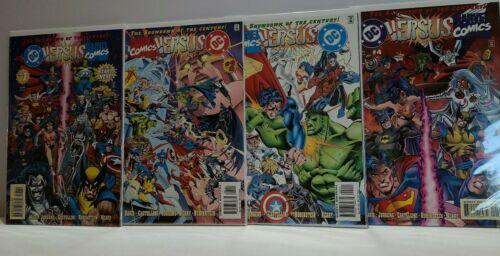 DC Versus Marvel / Marvel versus DC #1-4 Miniseries