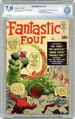 Fantastic Four #1 CBCS 7.0 1961 1st app. Fantastic Four