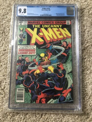 Uncanny X-Men 133 CGC 9.8 Marvel Key Wolverine Chris Claremont