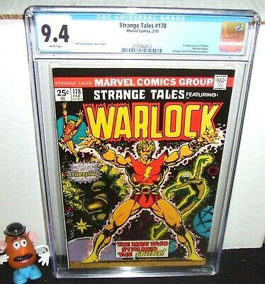 STRANGE TALES #178 MARVEL 1975 WARLOCK BEGINS 1ST MAGUS JIM STARLIN CGC 9.4 NM