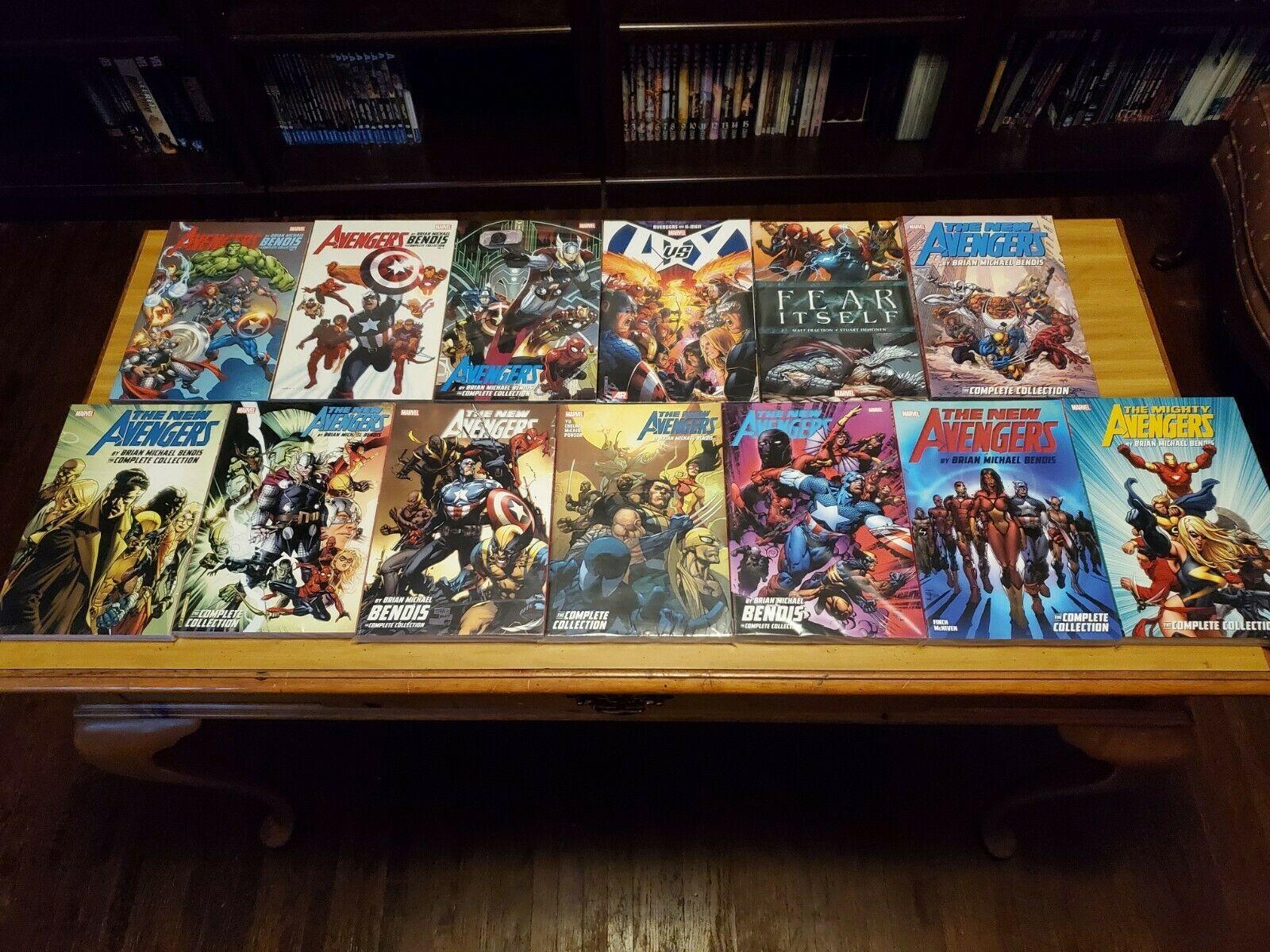 New Avengers - Mighty Avengers - Avengers + Tie In Books - 13 TPB - Bendis
