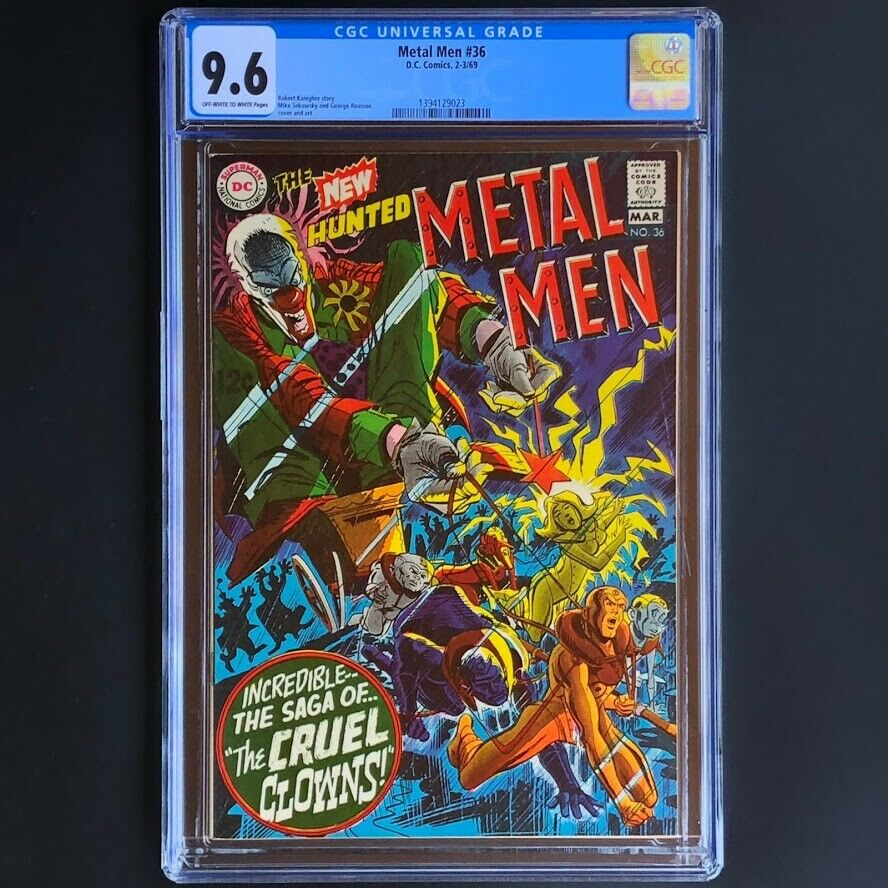 Metal Men #36 (1963) ? CGC 9.6 ? Only 1 Higher Graded Silver Age DC Comics