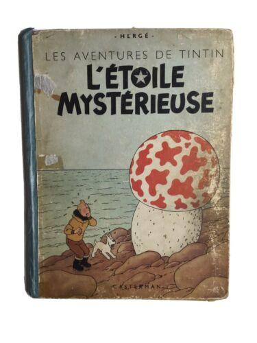 TINTIN – 1946 / B01 , L'étoile mystérieuse