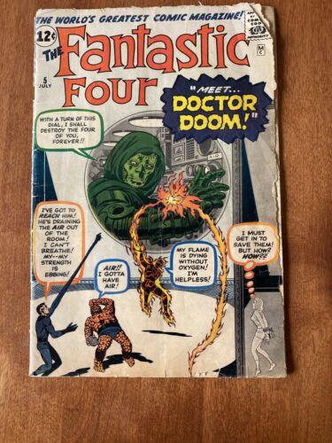 Fantastic Four #5 First App Of Dr.Doom
