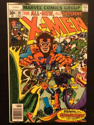 Uncanny X-men Lot 107, 108, 110-113 Claremont Byrne, 1st Starjammers Full