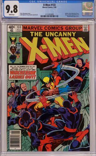 UNCANNY X-MEN 133 CGC 9.8 WP NEWSSTAND 1ST WOLVERINE SOLO STORY