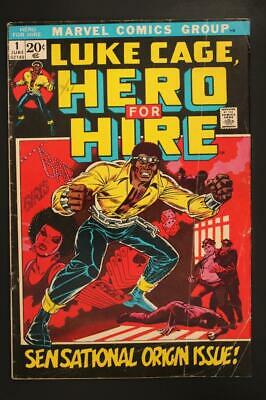 Luke Cage Hero For Hire # 1 -  - Sensational Origin Issue MARVEL Comics