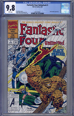 Fantastic Four Unlimited #1 CGC 9.8 Trimpe, Hoover, Pacella, Black Panther