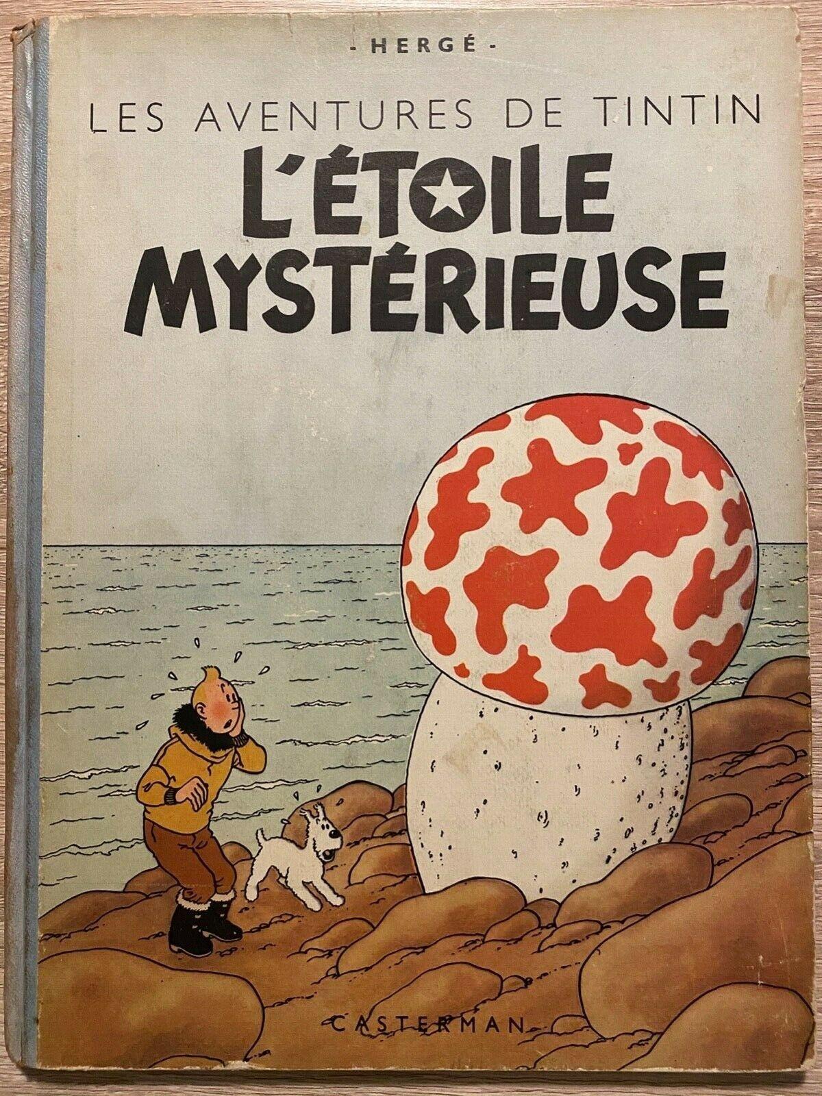 Tintin - L'étoile mystérieuse - 1946 - B1 - Hergé - Editions Casterman