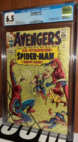 CGC 6.5 Avengers #11 Early Spiderman and 2nd Kang the Conqueror App. Rumored MCU