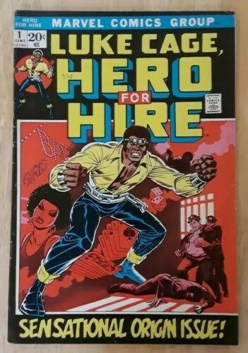 LUKE CAGE HERO FOR HIRE 1 POWER MAN ORIGIN ISSUE MARVEL BRONZE AGE F VF CGC IT