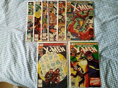Uncanny X-Men 129,130,131,132,133,134,135,136,137,138,139,140,141,142,143 Phoeni