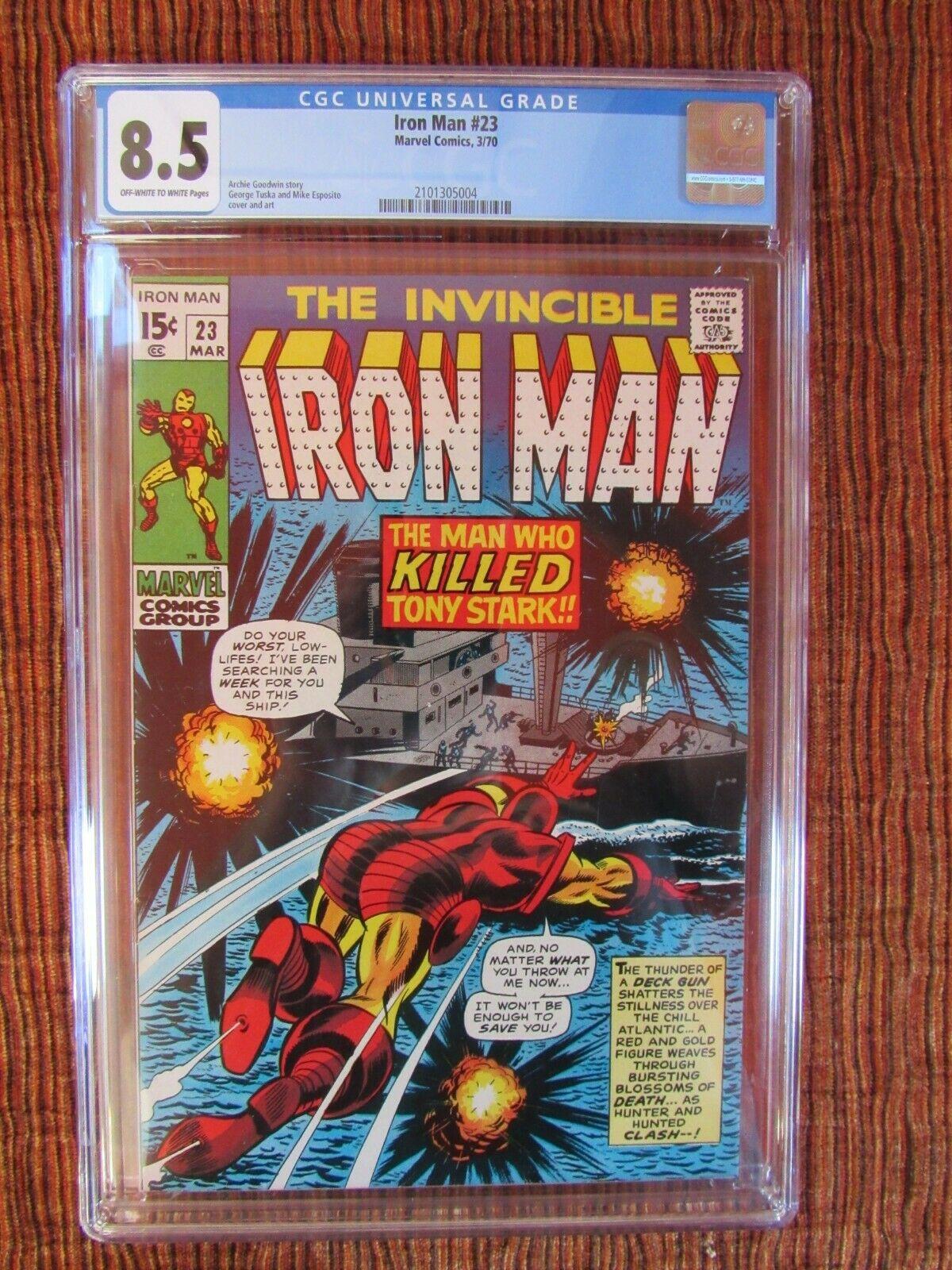 Iron Man Plus Lot of 12 CGC IM 23, 25, 29, 31, 34, 39, 40, 42 Hulk 119, 134, 137