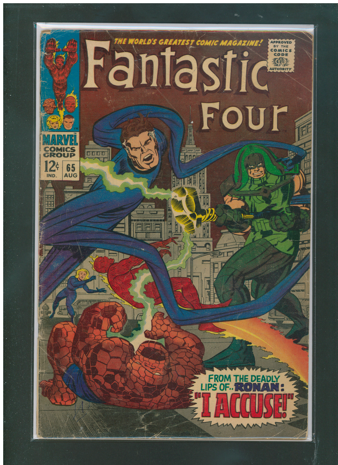 Fantastic Four #65 VG- 3.5 1st Ronan Appearance Unlimited $7 Shipping